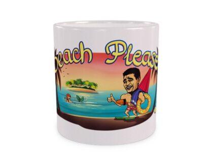 Beach please duży kubek
