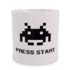 Press Start - wizualizacja