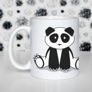 Siedząca Panda Zdjęcie