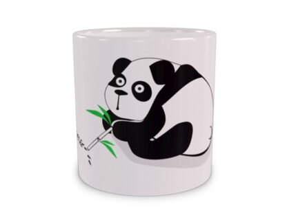 Uzależniona panda Duży Kubek