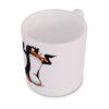 Tańczący pingwin Duży Kubek Wizualizacja