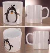 Pingwin Linux Wizualizacja Kubków