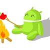 Wzór Android przy ognisku