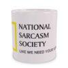 National Sarcasm Society Wizualizacja Kubka