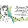Audrey Hepburn Wzór na Kubek
