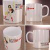 Wonder Woman - kubek z każdej strony