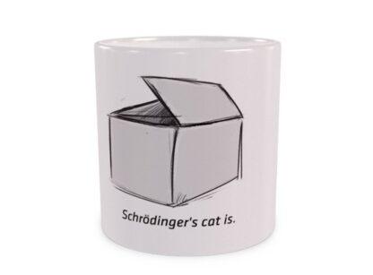 Kot Schrödingera Pudełko Duży Kubek