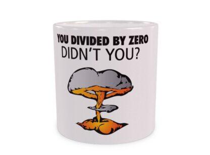 Divided by zero Duży Kubek