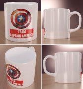 Team Captain America Wizualizacja