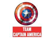 Team Captain America Wzór