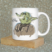Feel the coffee Yoda