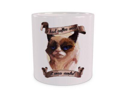 Grumpy Cat Duży kubek wizualizacja
