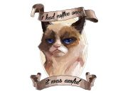 Grumpy Cat Wzór