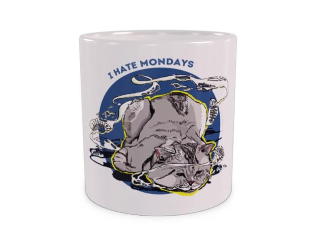 Kubek Z Kotem I Hate Mondays Dużekubkipl
