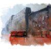 Kubek ze śląskim motywem Czerwone Miasto Wzór na Kubek