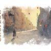 Kubek ze śląskim motywem Ulica Wolności Chorzów Wzór na kubek