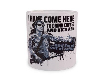 Drink coffee and kick ass - wizualizacja
