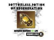 Bottomless potion – wzór na kubek
