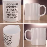 Coffee strong, monday short - kubek