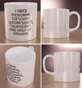 I hate Mondays… korpo kubek