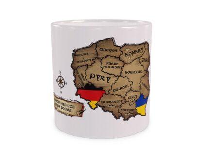 Wielka Słoicza Mapa Polski - wizualizacja