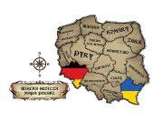 Wielka Słoicza Mapa Polski –  wzór na kubek