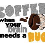 Brain needs hug - wzór na kubek