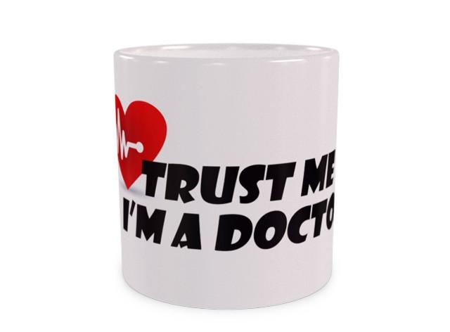 I'M DOCTOR Duży Kubek Dla Lekarza