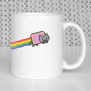 Nyan Cat na kubku