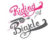 Riding on my Bicycle Wzór na kubek
