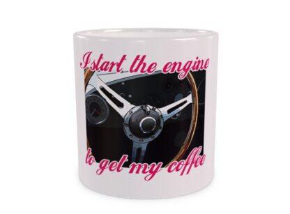 I Start the engine Wizualizacja