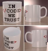 In code we trust – kubek programisty
