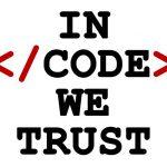 In code we trust - wzór kubka