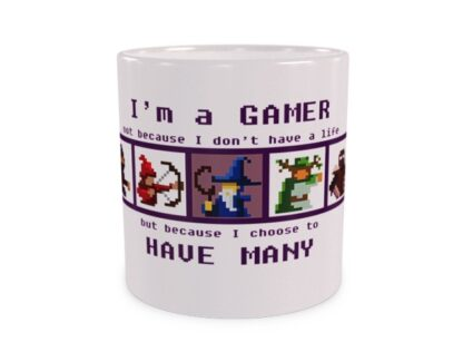 I'm gamer Wizualizacja