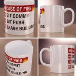 In Case of Fire Kubek dla Programisty