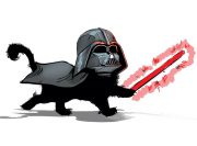 Darth Kitten Wzór Na Kubek