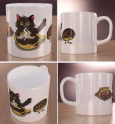Kofeinowy Kotek Wizualizacja Kubków
