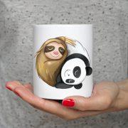 Panda z Leniwcem Zdjęcie