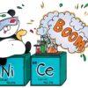 Panda Chemik Wzór na Kubek