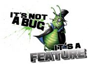 It's not a bug It's a feature Wzór na Kubek
