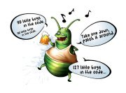 Little Bugs Wzór na Kubek