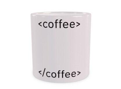 HTML Coffee Duży Kubek Wizualizacja