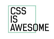CSS is awesome Wzór na Kubek