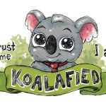 I am koalafied Wzór na Kubek