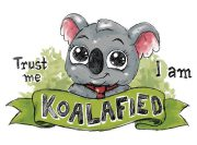 I am koalafied Wzór na Kubek