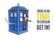Wzór na Kubek Tardis Doctor Who