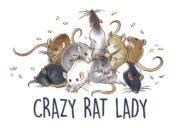 Wzór na kubek ze szczurem