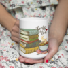 Kubek Books and tea