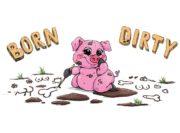 Wzór na kubek ze świnką