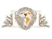 Wzór na kubek z lwem
